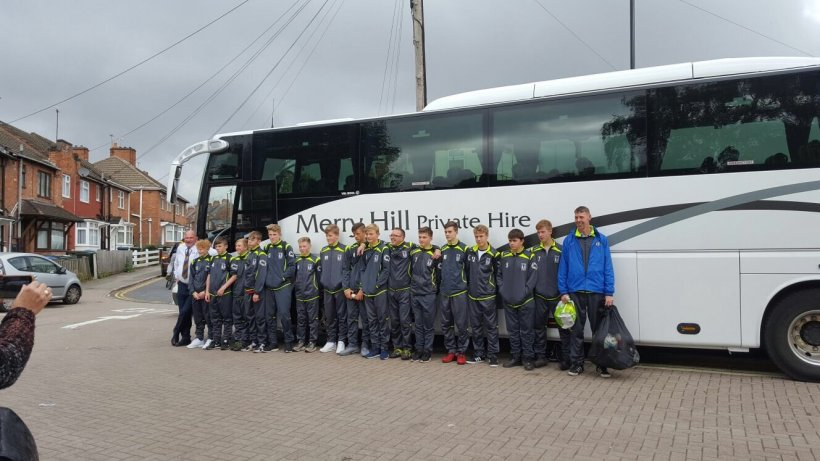 Merry Hill Private Hire, Lye Town MJPL Under 15's